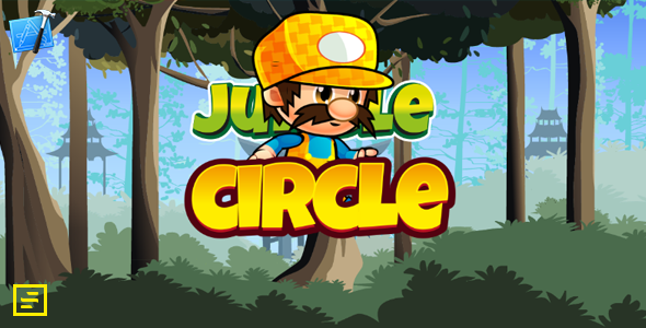 Jungle Circle - Xcode Full Template