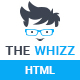 The Whizz - Personal Vcard Resume HTML Template