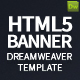 HTML5 Banner Dreamweaver Bundle Template