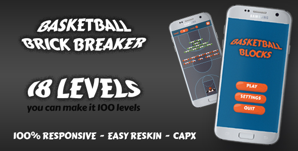 Basketball Brick Breaking Game