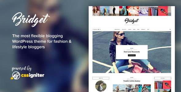 Bridget - Fashion / Lifestyle Theme for WordPress