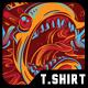 The King T-Shirt Design
