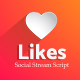 Likes – Social Stream Script (Images and Media)