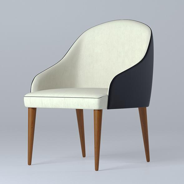 3DOcean Armchair B&B Judy 19659601