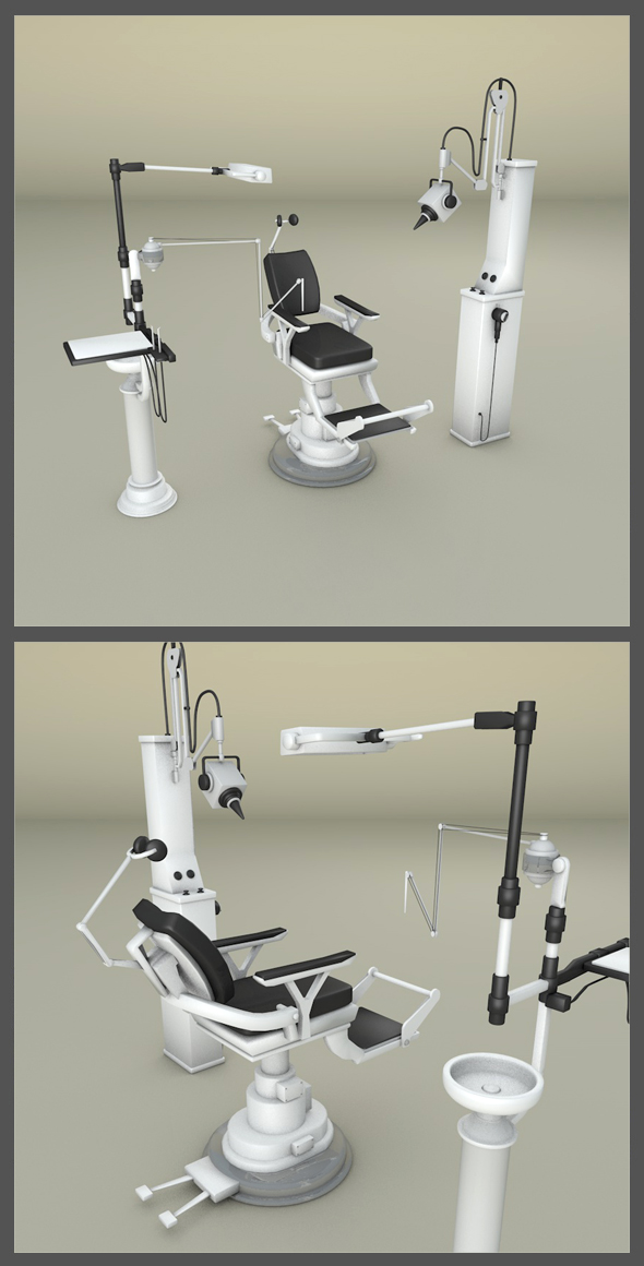 Dentist Office - 3DOcean Item for Sale