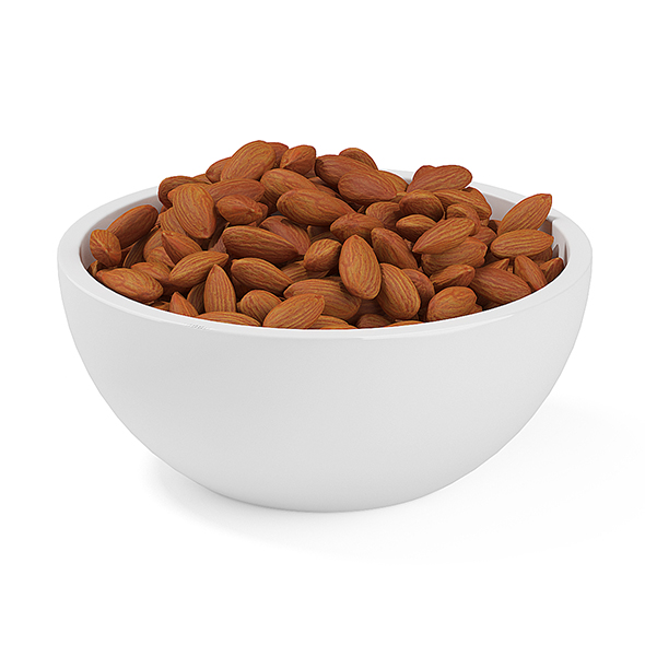 3DOcean Bowl of Almonds 19660826