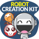 Cute Robot Creation Kit