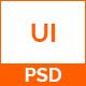 UI - Portfolio PSD Template