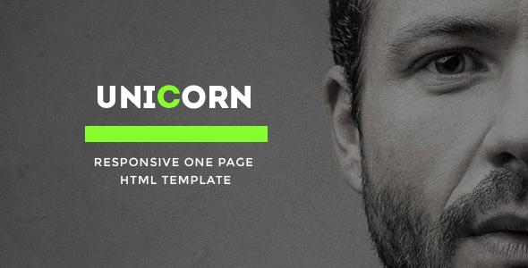 Unicorn - Onepage Multipurpose Html Template
