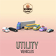 Low Poly Utility Vehicles