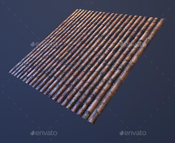 3DOcean Roof tilable texture 19663465