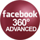 Facebook 360 photo advanced mockup
