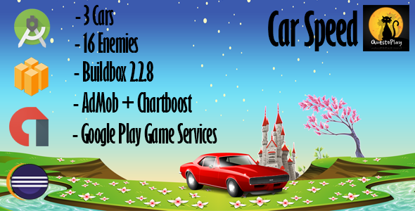 CodeCanyon Car Speed Game Android Buildbox Included Eclipse Project Easy Reskin Multiple characters 19664617