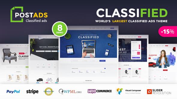 PostAds - Classified Ads WordPress Theme