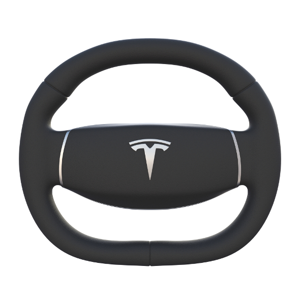 Tesla Model 3 Steering Wheel - 3DOcean Item for Sale