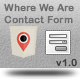 Where We Are Contact Form v.1.0 - CodeCanyon Item for Sale