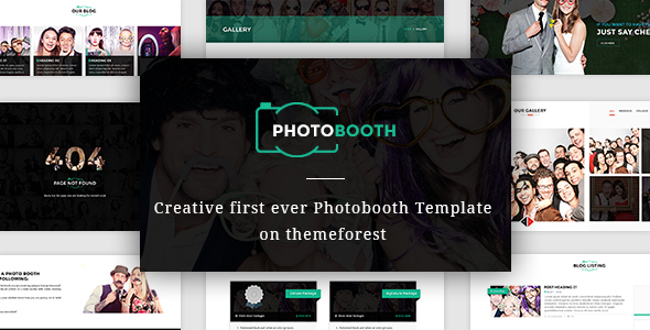 Download PhotoBooth - Photo Booth template