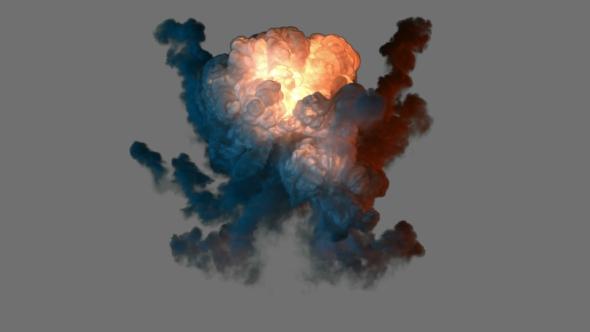 VideoHive Bomb Explosion 19668736