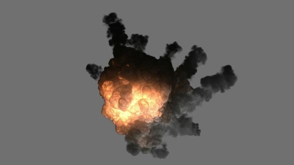 VideoHive Bomb Explosion 19668765