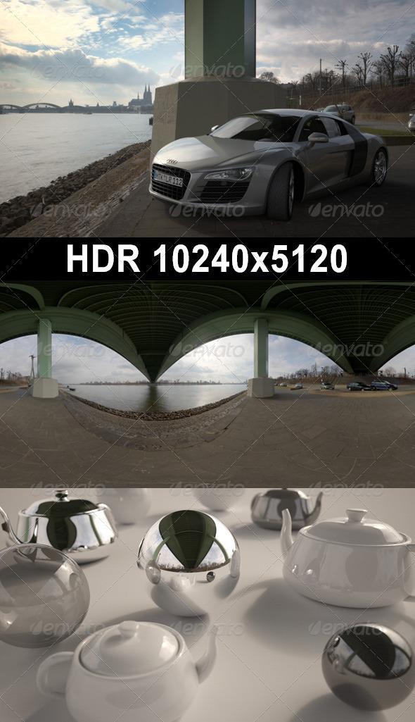 3DOcean HDR 10 River Columns 1928269