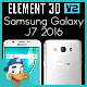Samsung Galaxy J7 2016 for Element 3D