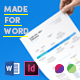 Infographic Resume Made for Word