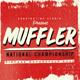 Muffler brush logo font