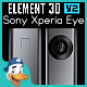 Sony Xperia Eye for Element 3D