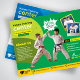 Kids Karate Training Flyer