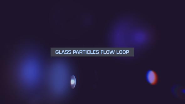 VideoHive Glass Bokeh Loop Overlay V1 19670276