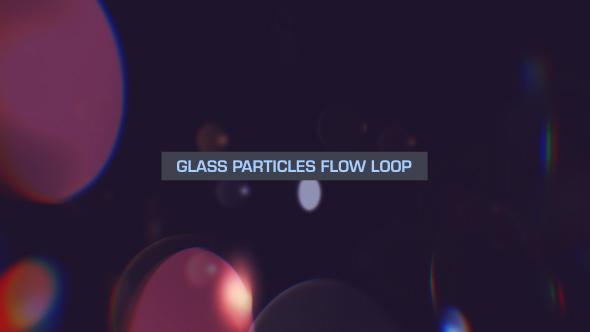 VideoHive Glass Bokeh Loop Overlay V2 19670283