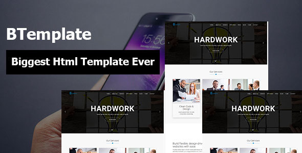 Download BTemplate Corporate Agency Business and Startup Responsive HTML5 Template