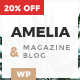 Amelia - Clean Blog & Magazine WordPress Responsive Theme
