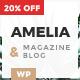 Amelia - Clean Blog & Magazine WordPress Responsive Theme