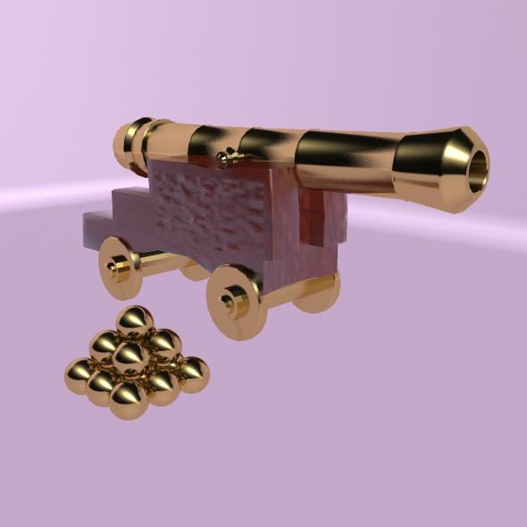 3DOcean Cannon 19671160