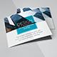 Grykry Square Tri-fold Brochure Template