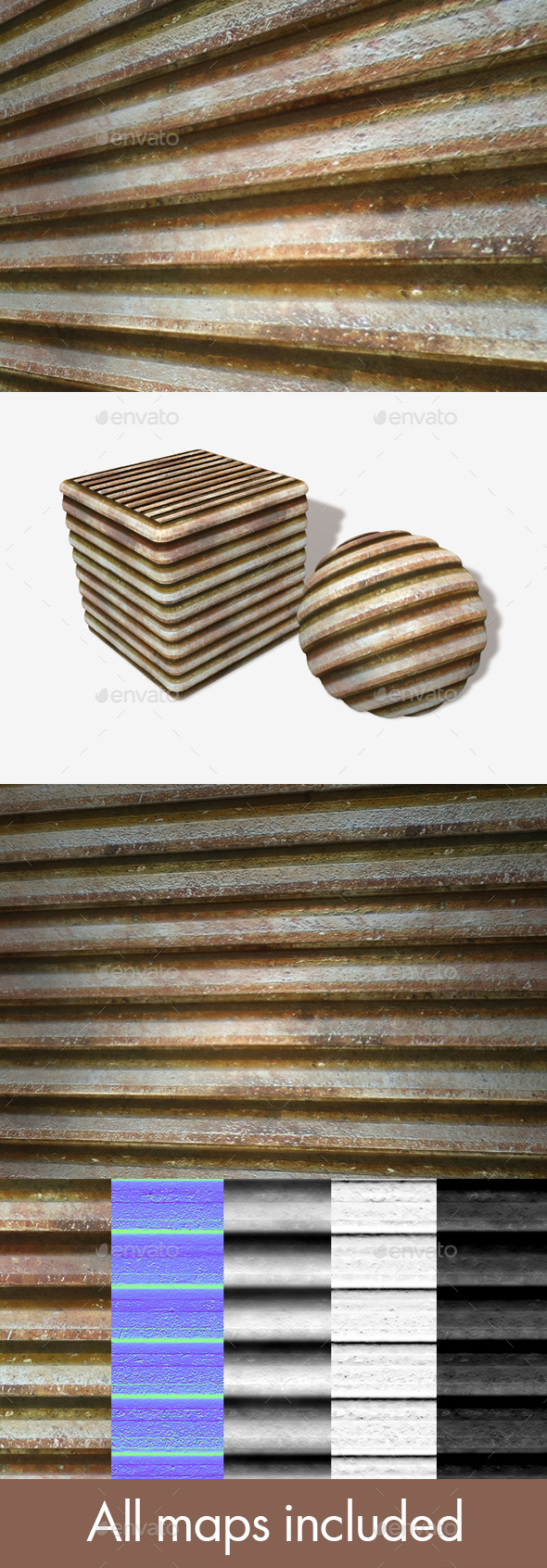 Dirty Metal Grate Seamless Texture. - 3DOcean Item for Sale