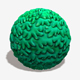 Toon Shrubbery Seamless Texture