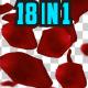 Falling Rose Petals Pack V1 18 n 1