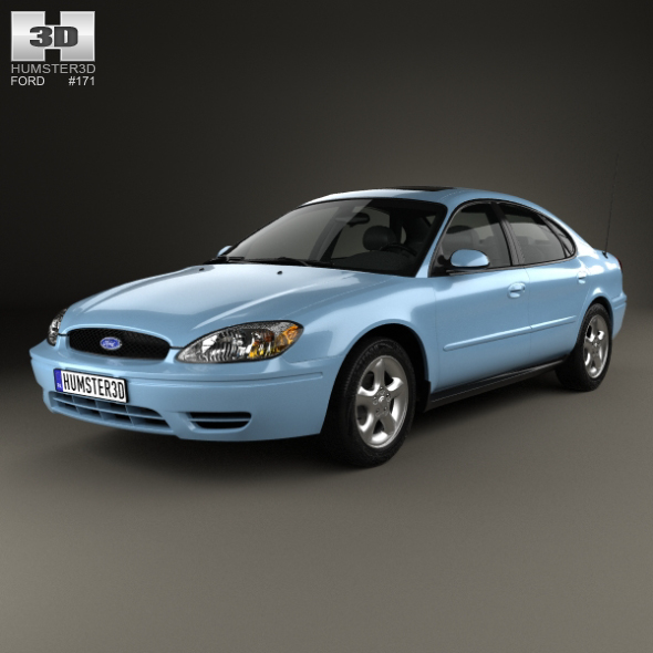 Ford Taurus 2000 - 3DOcean Item for Sale