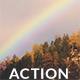 Photo-Realistic Rainbow Action