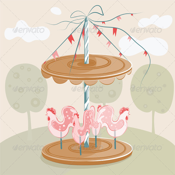 GraphicRiver Sweet Cock Carousel 1928559