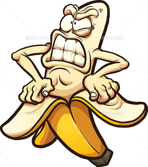 Graphicriver Angry Banana 19672800