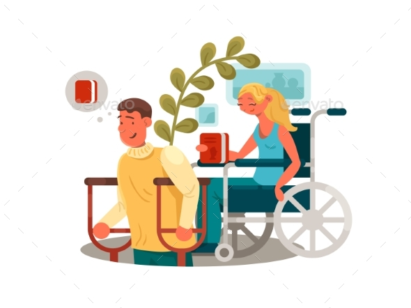 Graphicriver Persons with Disabilities 19673066