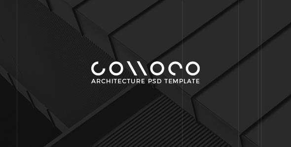 Connoco - Architecture PSD Template