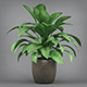 Philodendron Silk Potted Plant