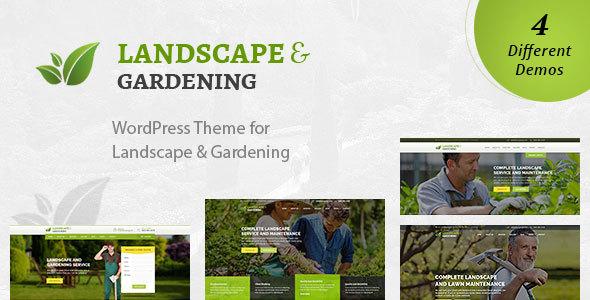 Download Landscape - WordPress Theme for Gardening & Landscaping