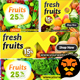 Fruits and Vegetable Banners 05