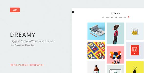 Download reamy - Biggest Portfolio WordPress Theme
