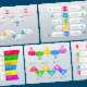 Infographic Templates in Paper Style. v.05